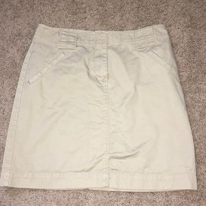 J crew sz 6 mini skirt